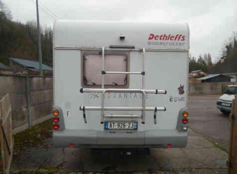 camping-car DETHLEFFS TX ADVANTAGE  extérieur / arrière