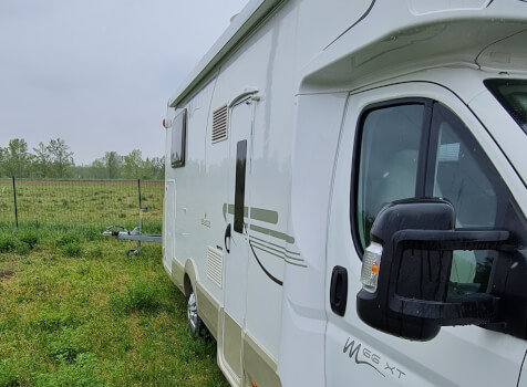 camping-car CI MAGIS 66 XT  extérieur / latéral droit
