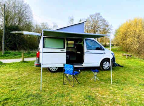 camping-car VOLKSWAGEN T6  extérieur / latéral