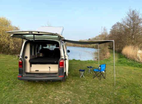 camping-car VOLKSWAGEN T6  extérieur / arrière