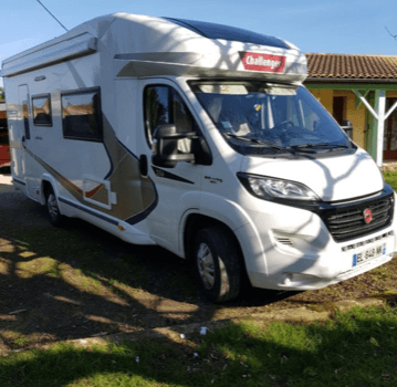 camping-car CHALLENGER GENESIS  extérieur / latéral gauche