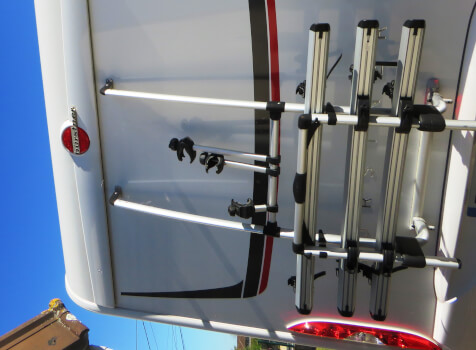 camping-car BURSTNER LYSEO TR 745 PRIVILEGE  extérieur / arrière