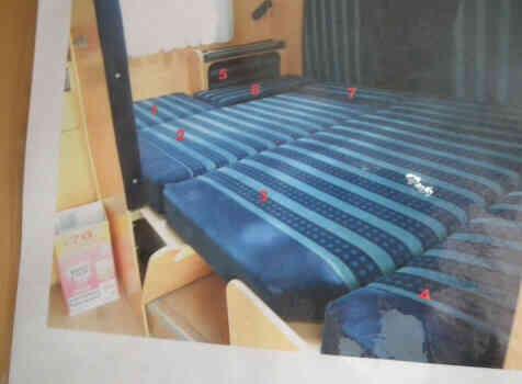 camping-car DETHLEFFS TX ADVANTAGE  intérieur / autre couchage