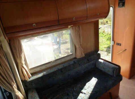 camping-car PILOTE PACIFIC 690  intérieur / autre couchage
