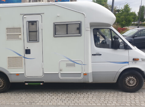 camping-car AUTOSTAR AMICAL  extérieur / latéral droit