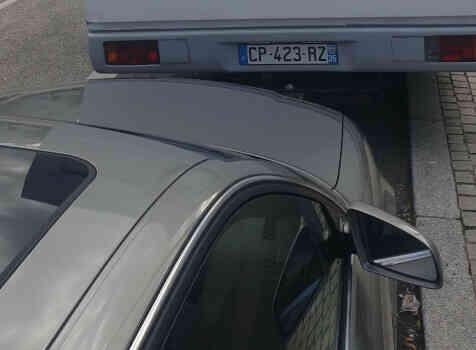 camping-car AUTOSTAR AMICAL  extérieur / arrière