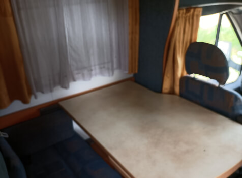 camping-car CHALLENGER 192 GA   intérieur / autre couchage