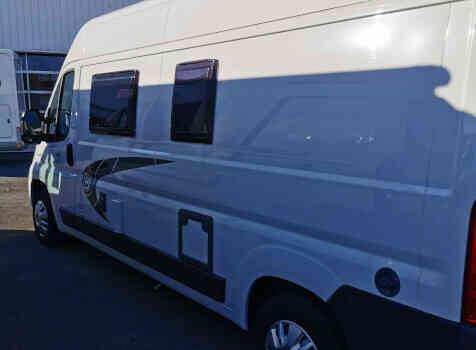 camping-car CHAUSSON TWIST V594 MAX  extérieur / latéral gauche