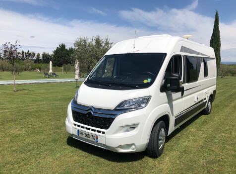 camping-car ELIOS 59T  extérieur / face avant