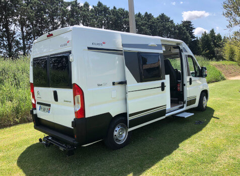 camping-car ELIOS 59T  extérieur / latéral gauche
