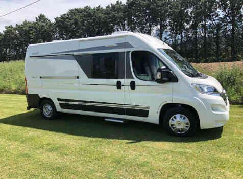 camping-car ELIOS 59T  extérieur / latéral droit