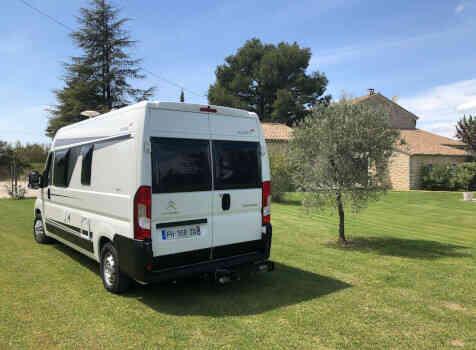 camping-car ELIOS 59T  extérieur / arrière
