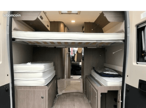 camping-car CHALLENGER V 114 MAX   intérieur / autre couchage