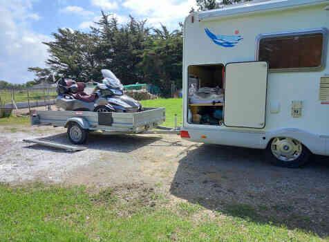 camping-car CI CARIOCA 599  extérieur / face avant