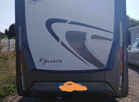 camping-car MOBILVETTA  K-YACHT 85  extérieur / arrière