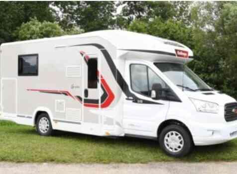 camping-car CHALLENGER 358 VIP  extérieur / face avant