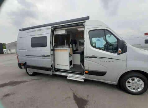 camping-car FONT VENDOME EVASION  extérieur / face avant