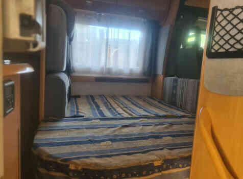 camping-car CHALLENGER EDEN 601  intérieur / autre couchage