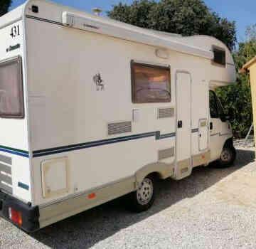 camping-car  MC LOUIS  431  extérieur / latéral droit