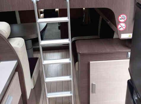 camping-car BAVARIA T 71 LP  intérieur / autre couchage