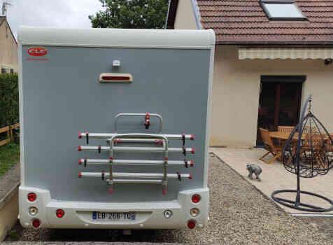 camping-car CHALLENGER GRAPHITE 398 XLB  extérieur / arrière