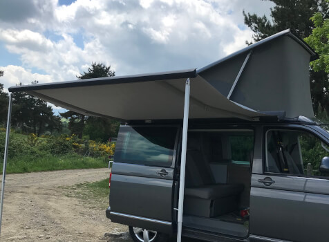 camping-car WESTFALIA VW T5  extérieur / latéral gauche