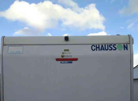 camping-car CHAUSSON WELCOME 50  extérieur / arrière