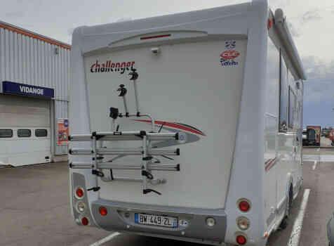 camping-car CHALLENGER MAGEO 119 EB  extérieur / arrière