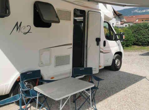 camping-car MC LOUIS MC 2-77   extérieur / arrière