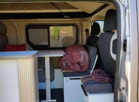 camping-car TALENTO RANDGER 535  intérieur / coin salon