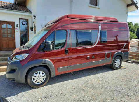 camping-car POSSL 2 WIN PLUS  extérieur / latéral droit