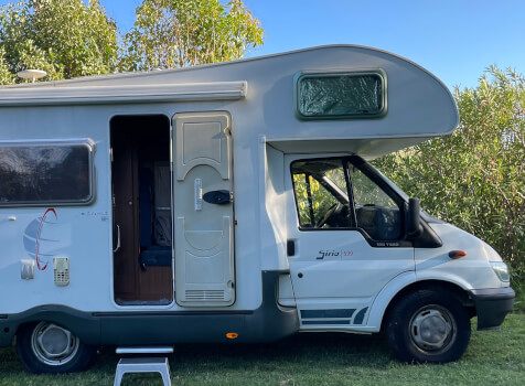 camping-car SIRIO 599  extérieur / face avant