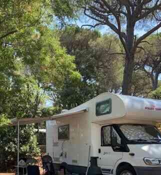 camping-car SIRIO 599  extérieur / latéral droit