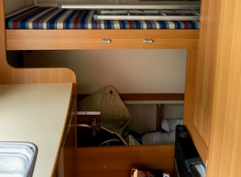 camping-car SIRIO 599  intérieur / autre couchage
