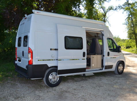 camping-car CAMPEREVE FAMILY VAN  extérieur / latéral gauche