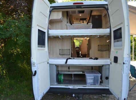 camping-car CAMPEREVE FAMILY VAN  intérieur / autre couchage