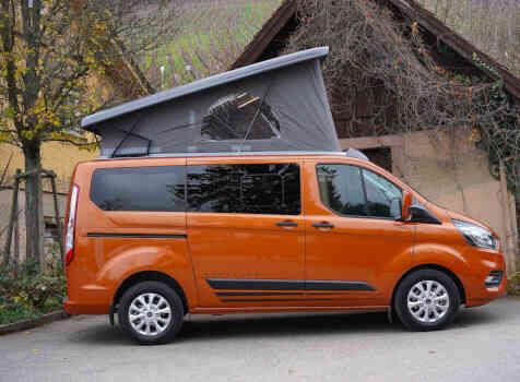 camping-car BURSTNER COPA  extérieur / arrière