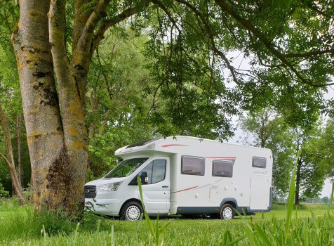 camping-car ROLLER TEAM KRONOS  extérieur / latéral gauche