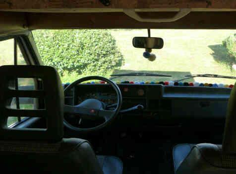camping-car CHAUSSON C 25  intérieur / autre couchage