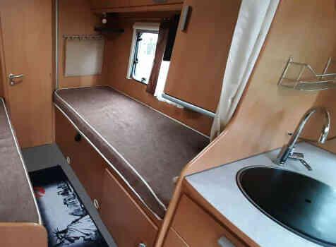 camping-car BAVARIA  intérieur / autre couchage