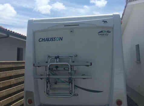 camping-car CHAUSSON SWEET  GARAGE  extérieur / arrière