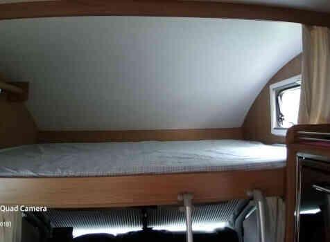 camping-car RIMOR  intérieur / autre couchage