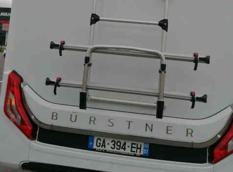 camping-car BURSTNER LYSEO PRIVILEGE TD 680G  extérieur / arrière