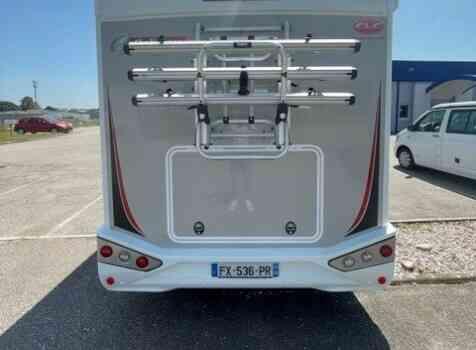 camping-car CHALLENGER 328 GRAPHITE PREMIUM  extérieur / latéral droit