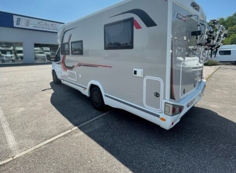camping-car CHALLENGER 328 GRAPHITE PREMIUM  extérieur / arrière