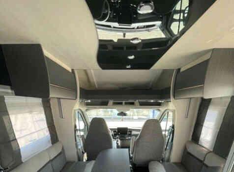 camping-car CHALLENGER 328 GRAPHITE PREMIUM  intérieur / coin salon