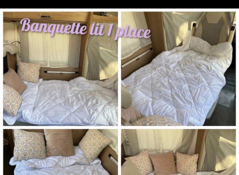 camping-car CARADO   intérieur / autre couchage