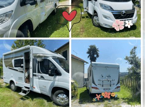 camping-car CARADO   extérieur / face avant