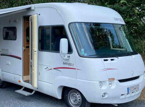 camping-car RAPIDO LE RANDONNEUR 962 M  extérieur / face avant
