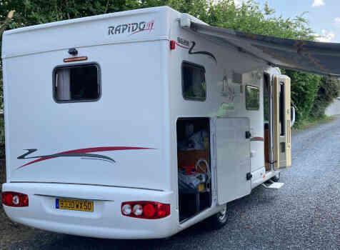 camping-car RAPIDO LE RANDONNEUR 962 M  extérieur / arrière